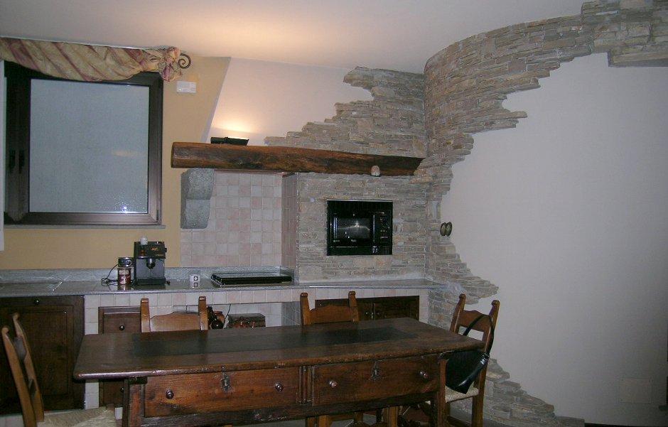 cucina taverna a giorno design esclusivo in legno arte povera quotes